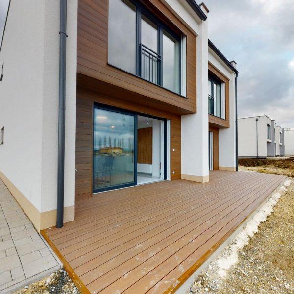 Rekreačné domy - terasa rekreačného domu | Oáza pokoja