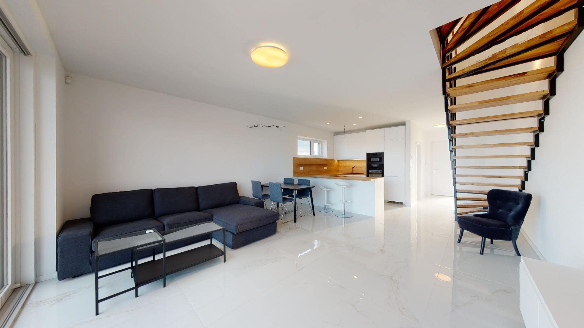 Rekreačné domy - interiér - obývacia izba | Oáza pokoja